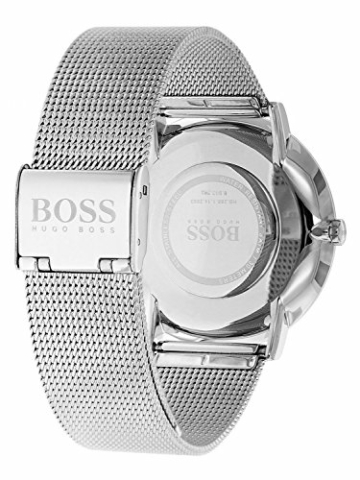 Hugo Boss Herren Datum klassisch Quarz Uhr mit Edelstahl Armband 1513514 - 2