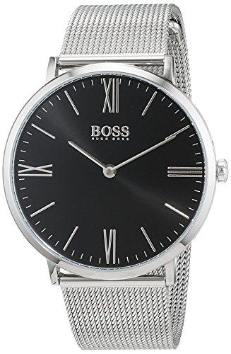 Hugo Boss Herren Datum klassisch Quarz Uhr mit Edelstahl Armband 1513514 - 5