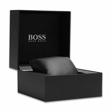 Hugo Boss Herren Datum klassisch Quarz Uhr mit Edelstahl Armband 1513514 - 7