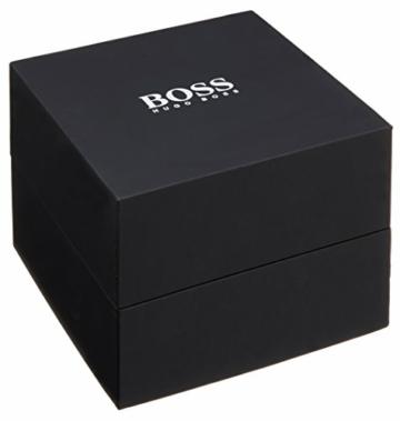 Hugo Boss Herren Datum klassisch Quarz Uhr mit Edelstahl Armband 1513514 - 8