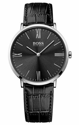 Hugo Boss Herren Quarz Uhr mit Armband 1513369 - 1