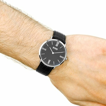 Hugo Boss Herren Quarz Uhr mit Armband 1513369 - 6
