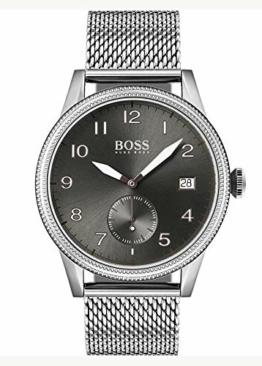 Hugo Boss Quarz Armbanduhr mit Edelstahlarmband 1513673 - 1