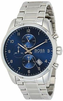 Hugo Boss Quarz Uhr mit Edelstahl Armband 1513784 - 1