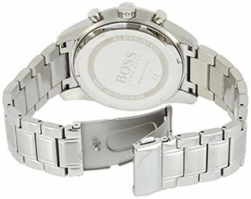 Hugo Boss Quarz Uhr mit Edelstahl Armband 1513784 - 2