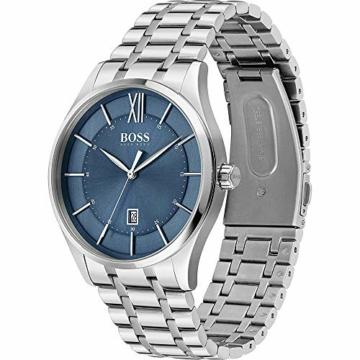 Hugo Boss Quarz Uhr mit Edelstahl Armband 1513798 - 2