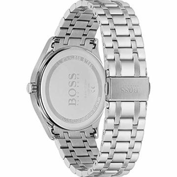 Hugo Boss Quarz Uhr mit Edelstahl Armband 1513798 - 3