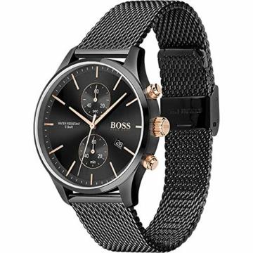 Hugo Boss Quarz Uhr mit Edelstahl Armband 1513811 - 2