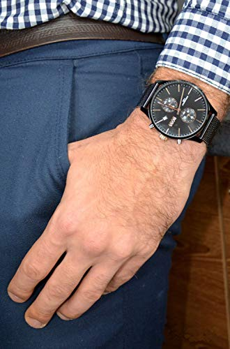 Hugo Boss Quarz Uhr mit Edelstahl Armband 1513811 - 4