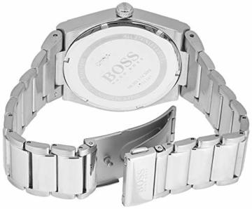 Hugo Boss Unisex Analog Quarz Uhr mit Edelstahl Armband 1513568 - 2