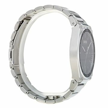 Hugo Boss Unisex Analog Quarz Uhr mit Edelstahl Armband 1513568 - 5