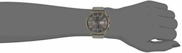 Hugo Boss Unisex Chronograph Quarz Uhr mit Leder Armband 1513570 - 5