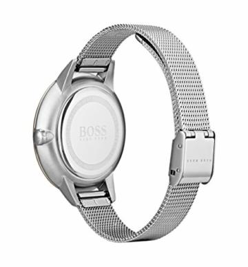 Hugo Boss Unisex Multi Zifferblatt Quarz Uhr mit Edelstahl Armband 1502423 - 3