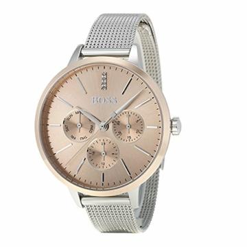 Hugo Boss Unisex Multi Zifferblatt Quarz Uhr mit Edelstahl Armband 1502423 - 4