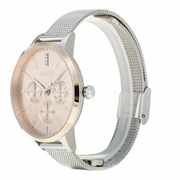 Hugo Boss Unisex Multi Zifferblatt Quarz Uhr mit Edelstahl Armband 1502423 - 5