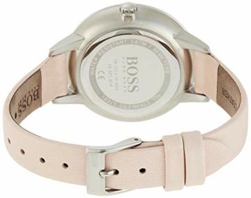 Hugo Boss Unisex Multi Zifferblatt Quarz Uhr mit Leder Armband 1502419 - 4