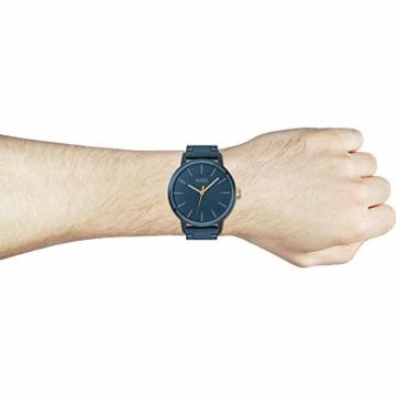 HUGO Herren Analog Quarz Uhr mit Edelstahl Armband 1530141 - 5