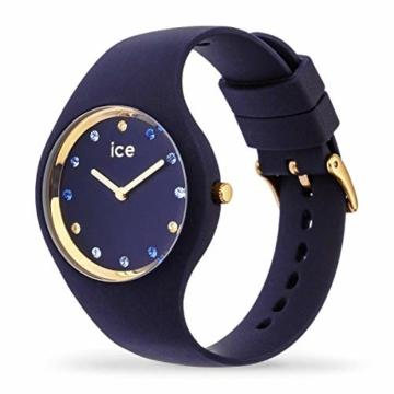 Ice-Watch - ICE cosmos Blue shades - Blaue Damenuhr mit Silikonarmband - 016301 (Small) - 2