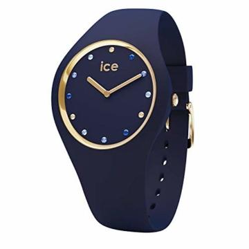 Ice-Watch - ICE cosmos Blue shades - Blaue Damenuhr mit Silikonarmband - 016301 (Small) - 1