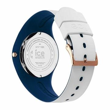 Ice-Watch - ICE duo chic White marine - Weiße Damenuhr mit Silikonarmband - 016983 (Medium) - 4