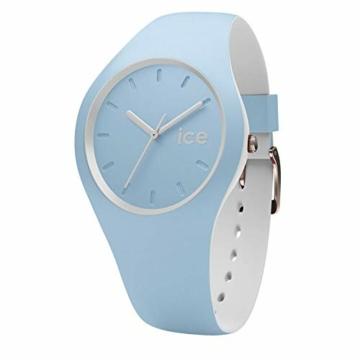 Ice-Watch - ICE duo White sage - Blaue Damenuhr mit Silikonarmband - 001489 (Small) - 1