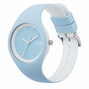 Ice-Watch - ICE duo White sage - Blaue Damenuhr mit Silikonarmband - 001489 (Small) - 3