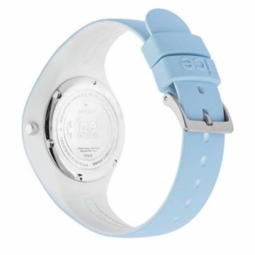 Ice-Watch - ICE duo White sage - Blaue Damenuhr mit Silikonarmband - 001489 (Small) - 5