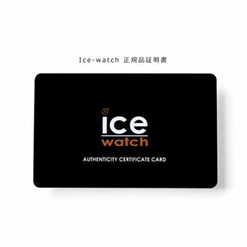 Ice-Watch - ICE glam Black Rose-Gold - Schwarze Damenuhr mit Silikonarmband - 000980 (Medium) - 5