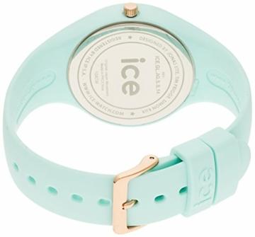 Ice-Watch - ICE glam pastel Aqua - Grüne Damenuhr mit Silikonarmband - 001068 (Medium) - 2
