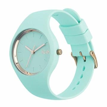 Ice-Watch - ICE glam pastel Aqua - Grüne Damenuhr mit Silikonarmband - 001068 (Medium) - 3