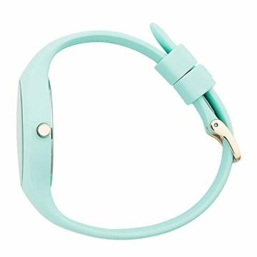 Ice-Watch - ICE glam pastel Aqua - Grüne Damenuhr mit Silikonarmband - 001068 (Medium) - 4