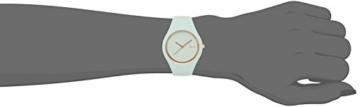 Ice-Watch - ICE glam pastel Aqua - Grüne Damenuhr mit Silikonarmband - 001068 (Medium) - 6