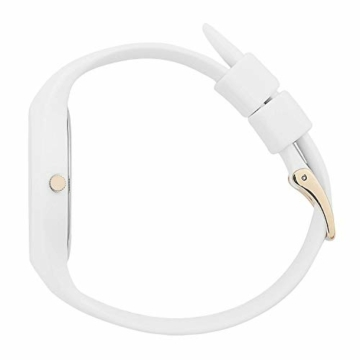 Ice-Watch - ICE glam White - Weiße Damenuhr mit Silikonarmband - 000981 (Small) - 4