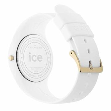 Ice-Watch - ICE glam White - Weiße Damenuhr mit Silikonarmband - 000981 (Small) - 5