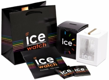 Ice-Watch - ICE glam White - Weiße Damenuhr mit Silikonarmband - 000981 (Small) - 6
