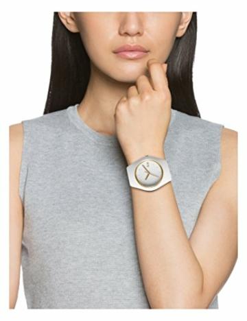 Ice-Watch - ICE glam White - Weiße Damenuhr mit Silikonarmband - 000981 (Small) - 8