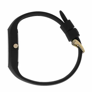 Ice-Watch - ICE glitter Black - Schwarze Damenuhr mit Silikonarmband - 001356 (Medium) - 4
