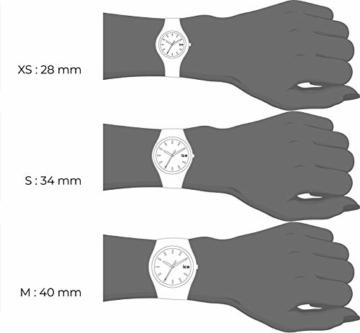 Ice-Watch - ICE glitter Black - Schwarze Damenuhr mit Silikonarmband - 001356 (Medium) - 7