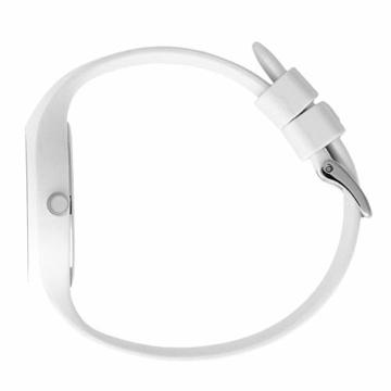 Ice-Watch - ICE lo White blue - Weiße Damenuhr mit Silikonarmband - 013429 (Medium) - 4