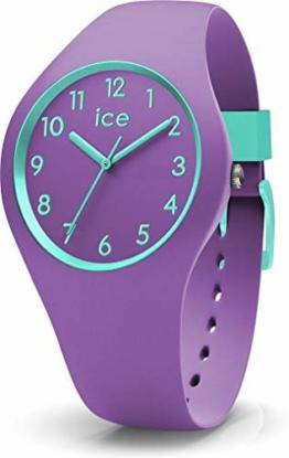 Ice-Watch - ICE ola kids Mermaid - Lila Mädchenuhr mit Silikonarmband - 014432 (Small) - 1