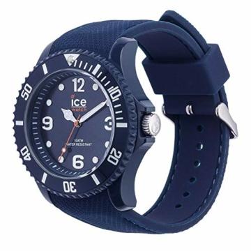 Ice-Watch - ICE sixty nine Dark blue - Blaue Herren/Unisexuhr mit Silikonarmband - 007278 (Medium) - 3