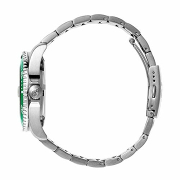 Ice-Watch - ICE steel Green silver - Grüne Herrenuhr mit Metallarmband - 016544 (Medium) - 3