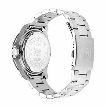Ice-Watch - ICE steel Green silver - Grüne Herrenuhr mit Metallarmband - 016544 (Medium) - 4