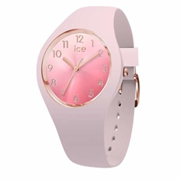 Ice-Watch - ICE sunset Pink - Rosa Damenuhr mit Silikonarmband - 015747 (Medium) - 1