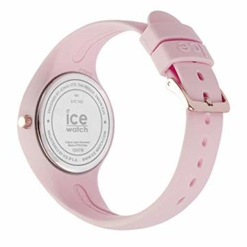 Ice-Watch - ICE sunset Pink - Rosa Damenuhr mit Silikonarmband - 015747 (Medium) - 4