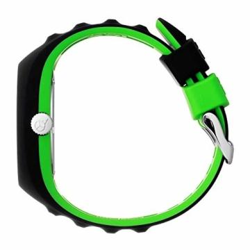 Ice-Watch - P. Leclercq Black green - Schwarze Herrenuhr mit Silikonarmband - 017599 (Medium) - 3