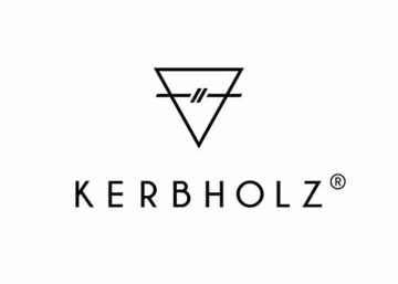 KERBHOLZ Holzuhr – Masterpieces Collection Anton analoge Herrenuhr, Quarz Uhr mit Datumsanzeige, Naturholz Gehäuse, echtes Lederarmband, Durchmesser 42mm, Walnuss Grau Aviator - 7