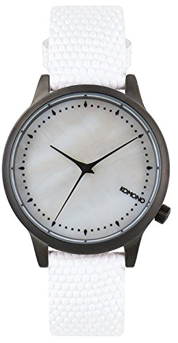 Komono Damen Analog Quarz Uhr mit Leder Armband KOM-W2701 - 1