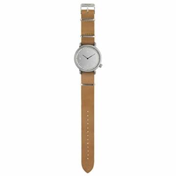 Komono Silver Magnus Metropolis horloge KOM-W1946 - 2