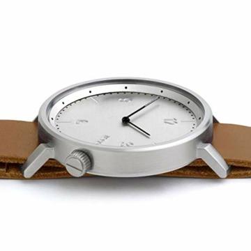 Komono Silver Magnus Metropolis horloge KOM-W1946 - 3